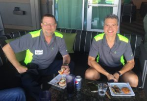 Top Golf CHuck Ray and Mike Prachar
