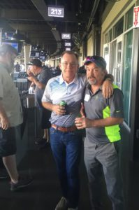 Top Golf Jeff Rogers with client