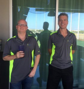 Top Golf Mike Rogers and Mike Prachar