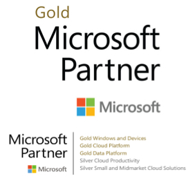 microsoft gold partner and certifications